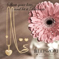 ORDER NOW WITH WILKINS JEWELLERS - www.blossomcopenhagen or www.houseofjew.com Show your love and let it Blossom. A lovely and romantic jewellery collection - designed by danish designer Christina Elbro Lihn