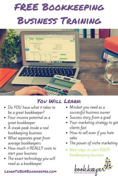How to start and grow a successful virtual bookkeeping business. Free 3-part training series by Bookkeeper Business Academy shows the personal characteristics needed to be a success. First class is September 10th. Learn more and sign up: http://www.learntobeabookkeeper.com/ref/8 #spon