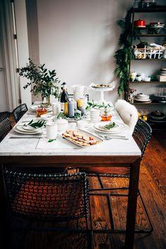 overnight eggnog waffles + a holiday brunch - hummingbird high    a desserts and baking blog