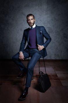 Ben Dahlhaus by Esra Sam Perfect Beard, Beard Love, Blue Fashion, Mens Fashion, Fashion Outfits, Tapered Beard, Ben Dahlhaus, Beard Tips, Beard Styles For Men