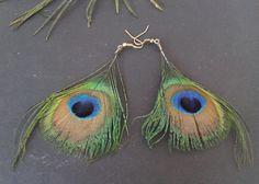 Feather, Jewelry Making, Drop Earrings, Handmade, Fashion, Moda, Quill, Hand Made, Fashion Styles