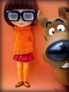 Blythe Doll Velma Scooby
