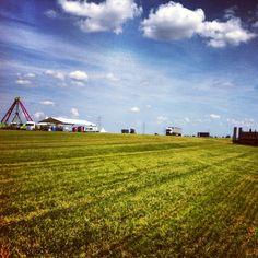 Aufbau - 9. Juni 2013 Rock Festivals, Juni, Nova