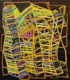 Jason Karolak / Untitled (P-0919), 2009, oil on linen, 15 x 13 inches