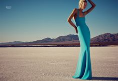 blue planet fashion shoot4 Blue Planet: Alyona Subbotina Dazzles in Marie Claire UK by David Roemer