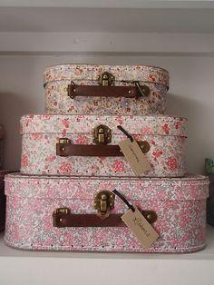 Sass & Belle Vintage Storage Suitcases   eBay UK