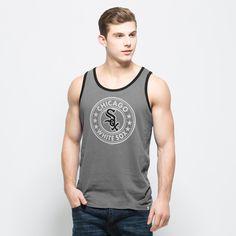 Chicago White Sox 47 Brand Grey All Pro Sleeveless Cotton Tank Top T-Shirt