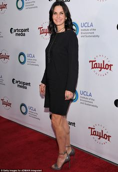 Captain planet: Masters Of The Universe star Courteney Cox looked great at an environmental gala in Beverly Hills on Thursday