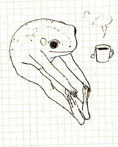 free your yoni Art Sketches, Art Drawings, Arte Peculiar, Illustration Art, Illustrations, Frog Art, Art Hoe, Aesthetic Art, Wall Collage