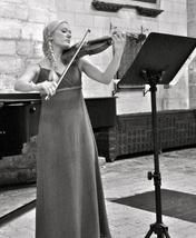 Today's Featured Video, from the UK, Classical Violinist Hannah Woolmer. Stop by and listen to her beautiful music at: http://www.worldindiemusic.net/home.html Hannah is in much demand as a soloist and her recent performances with orchestra include The Lark Ascending, Bruch Violin Concerto, Summer and Meditation. February 2014 saw the inaugural concert of Hannah's newly established orchestra the WPO, which was well received by both press and audience members alike.