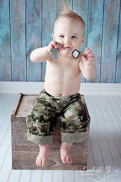 military kids photo