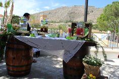 Mesa de Limonada//Lemonade Table #eventosiberiavillage