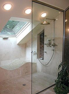 Small Bathroom Designs Slanted Ceiling home sweet home on a budget: linkup features & master bedrooms