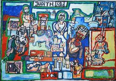 Judith Damgaard Nielsen. OUTSIDER ART BIFROST DK 8900 Randers