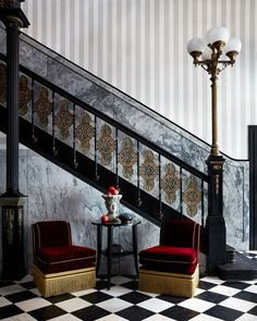 Atelier Ace have partnered with LA-based Studio Shamshiri on Maison de la Luz, a boutique and bespoke guest house in the French Quarter of New Orleans. New Orleans Hotels, Banquettes, Tulum, Cocktail Bar Design, Routine, Going Off The Grid, Hotel Restaurant, Street Looks, Houses