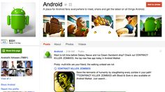 Android has themed their page about their latest OS ice-cream sandwich. Kudos for the design!
