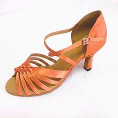 e9c3f7934322 Customized+Women s+Latin+Sandals+Customized+Heel+Dance+Shoes+