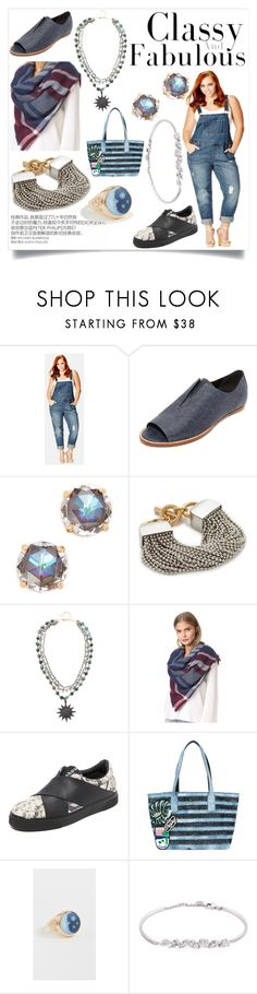 """""""Elegance is not about being noticed"""" by emmamegan-5678 ❤ liked on Polyvore featuring City Chic, Zero + Maria Cornejo, Kate Spade, Alexander Wang, Ela Rae, Hat Attack, Proenza Schouler, Marc Jacobs, Jacquie Aiche and Anyallerie"""