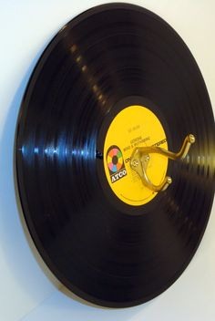 Vinyl Record Album Single Wall Hook Display by ThisNThatHodgePodge, $15.00