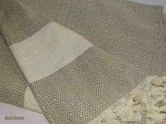 Milky brown colour soft Turkish cotton single bed cover bed