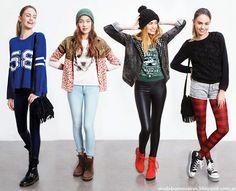 Moda juvenil 2014. Como quieres que te quiera otoño invierno 2014. Moda otoño invierno 2014 en Argentina.