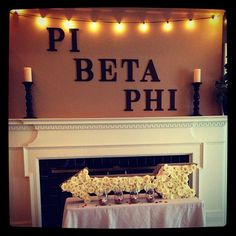 Pi Phi on Pref Day