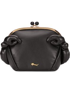 Muveil Clutch De Couro - The Webster - Farfetch.com
