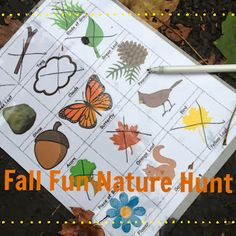 Fun Fall Activity with Little Ones: Nature Hunt (Free Printable)