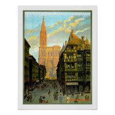 >>>The best place          Strasbourg Vintage Travel Poster           Strasbourg Vintage Travel Poster lowest price for you. In addition you can compare price with another store and read helpful reviews. BuyHow to          Strasbourg Vintage Travel Poster today easy to Shops & Purchase Onli...Cleck See More >>> http://www.zazzle.com/strasbourg_vintage_travel_poster-228662954621845004?rf=238627982471231924&zbar=1&tc=terrest