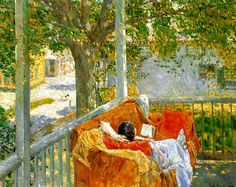 Reading and Art: May 2012 Frederick Childe Hassam