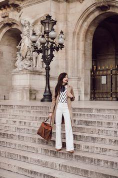 258f47c2360f Le pantalon flare blanc que je cherchais depuis des années
