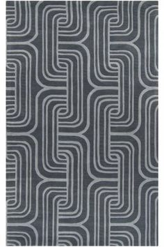 Visit The Home Depot to buy Artistic Weavers Santee Midnight Blue 8 ft. x 11 ft. Contemporary Area Rugs, Geometric Rug, Blue Wool, Accent Rugs, Throw Rugs, Cool Rugs, Midnight Blue, Wool Area Rugs, Rugs Online