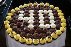 Birthday Cupcakes For Men | 40th birthday cupcakes | Flickr - Photo Sharing!