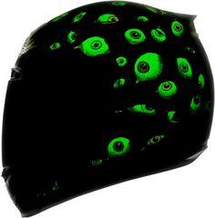 IT GLOWS IN THE DARK!! - Icon's new Airmada Helmet - Sensory