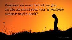ter wille van 'n nagedagtenis Teaching Poetry, You Are Strong, High Five, Afrikaans, Dreaming Of You, Van, Quotes, Afrikaans Language, Vans