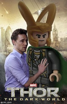 Twitter / Loki_Lego: Fear not, Thomas. I shall protect you from that oaf Thor!