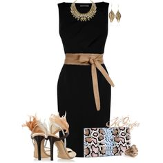 """Classy Feathers Contest"" by kginger on Polyvore"
