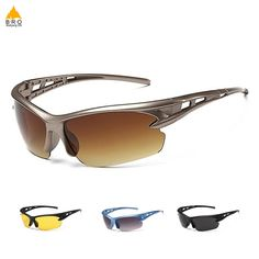 Kecar Polarized Sports Sunglasses Professional Motorcycle Cycling Classic Glasses for Unisex Women Men UV Protection Beach Trip Fishing Casual Uses Hiking Golfing Driving Running