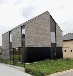 Mekers-Broekx Architecten - moderne, compacte BEN-woning met hellend dak - Limburg, Tongeren Design Concepts, House 2, Modernism, Architecture Design, Sweet Home, Colors, Outdoor Decor, Home Decor, Perspective