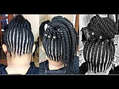 Box braids , GRIPPING THE ROOTS ( 7packs,8hrs ) - YouTube