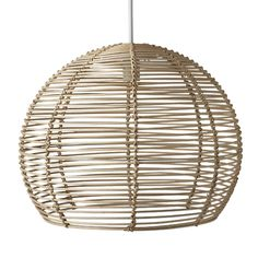 Rattan Pendant 50cm | Freedom Furniture and Homewares