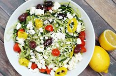 Authentic greek salad recipe -- delicious, healthy and easy to make!