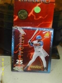 Complete Collector set of 25 Major League Players of the Natural Baseball cards