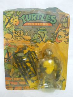 Awesome card art on this TMNT bootleg.