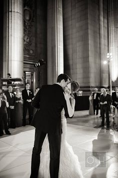 "First dance to Billy Joel's ""She's Got a Way"" 