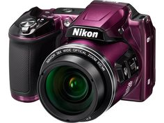 Nikon - Coolpix Digital Camera - Plum - Left Zoom Discover how you can get a nice electronic accessories for your gadgets. Dslr Nikon, Cameras Nikon, Canon Lens, Dslr Photography Tips, Photography Equipment, Photography Lessons, Photography Business, Learn Photography, Food Photography