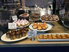 Cake display Hahnemanns Køkken new shop Torvehallerne Copenhagen