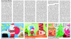 Część 4. Dzieciaki napisały ponad 400 listów do Świętego Mikołaja i wysłały je przez redakcję Tygodnika Ostrołęckiego. My przyklejaliśmy znaczki ;-)