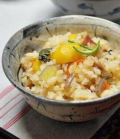 Japanese Food / 五目栗ごはん