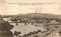 Rzeka Wisła (Kraków), Kraków - 1915 rok, stare zdjęcia